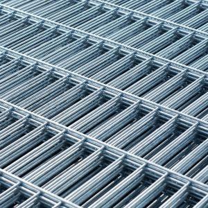 Panel ogrodzeniowy srebrny