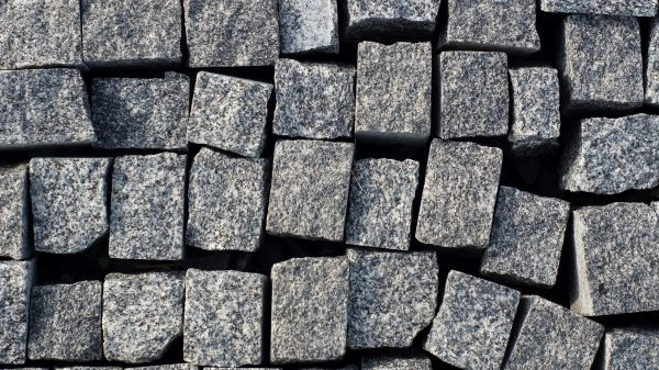 Kostka granitowa Padang Dark